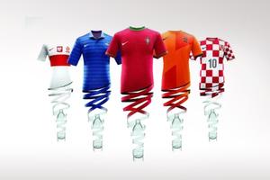 Φανέλες από ανακυκλωμένα μπουκάλια στο Euro 2012
