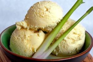 Παγωτό lemongrass