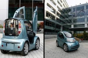 Το μικρότερο ηλεκτροκίνητο αυτοκίνητο