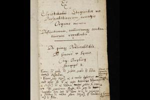Τα ελληνικά κείμενα στο σημειωματάριο του Ισαάκ Νεύτωνα