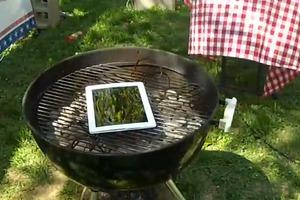 Aντέχει στο grill το νέο iPad;