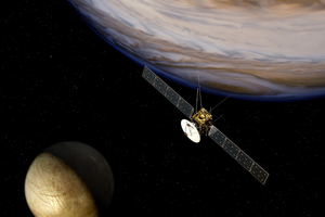 Tο «JUICE» πετάει για τα παγωμένα φεγγάρια του Δία