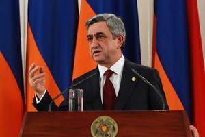 Νέος πρόεδρος στην Αρμενία ο Σαρκισιάν