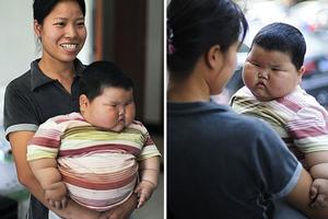 Κοριτσάκι 18 μηνών ζυγίζει 20 κιλά!