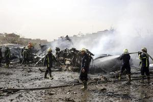 Σαράντα νεκροί από τις εκρήξεις στη Δαμασκό