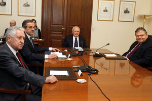 Τα πρακτικά της δεύτερης σύσκεψης στο Προεδρικό