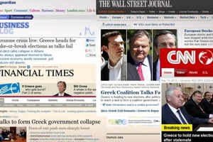 Οι νέες εκλογές πρωταγωνιστούν στα διεθνή ΜΜΕ