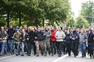 Συνελήφθησαν 400 ακτιβιστές στην Φρανκφούρτη