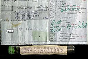 Δείγμα με αίμα του Ρίγκαν πωλείται στο διαδίκτυο