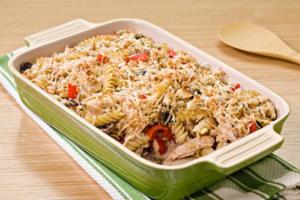 Μακαρόνια φούρνου με κοτόπουλο