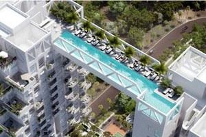 Πισίνα με θέα… 38 ορόφων