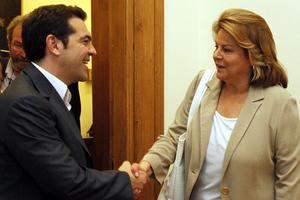 Σε προεκλογική και μετεκλογική συνεργασία προχωρούν ο Τσίπρας-Κατσέλη