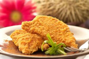 Φιλέτο κοτόπουλο πανέ φούρνου