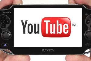 Εφαρμογή YouTube στο Playstation Vita