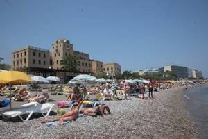 Αύξηση 18,4% της τουριστικής κίνησης στη Ρόδο τον Ιούνιο