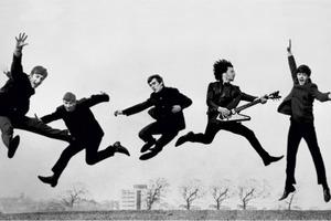 Στο σφυρί ηλεκτρική κιθάρα των Beatles
