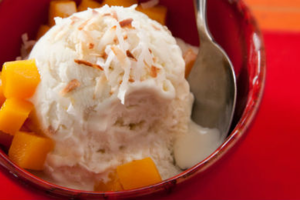 Φτιάξτε παγωτό καρύδα
