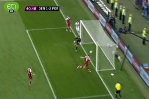 Μείωσε σε 2-1 η Δανία