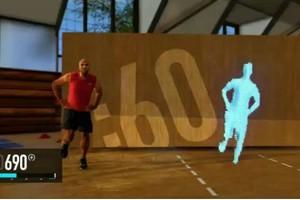Άσκηση στο σπίτι με το «Nike+ Kinect Training»