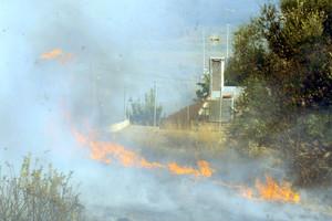 Υπό μερικό έλεγχο η φωτιά στο Στεφάνι Κορινθίας