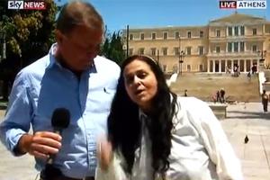 Η Ελένη Λουκά «τα χώνει» στη Μέρκελ μέσω Skynews!