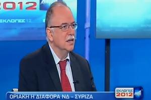 «Αυτή την ώρα δεν προέχουν οι κομματικοί πανηγυρισμοί»
