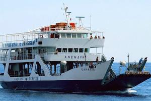 Τα μποφόρ «έδεσαν» το πλοίο «Σαμαριά»