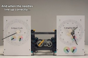 Ο μηχανισμός των Αντικυθήρων σε Lego