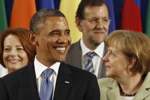 Με τους Ευρωπαίους του G20 συναντήθηκε ο Ομπάμα