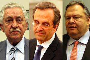 Μετά τη σύσκεψη Σαμαρά-Βενιζέλου-Κουβέλη ο νέος υπουργός Οικονομικών