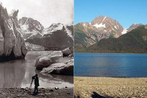 Φωτογραφίες-τεκμήρια για το λιώσιμο των πάγων