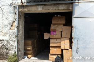 Ένα εκατομμύριο «μαϊμού» προϊόντα σε αποθήκη στο Βοτανικό