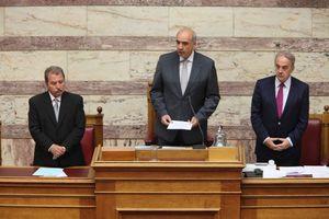 Αλλαγές στον κανονισμό της Βουλής προανήγγειλε ο Ε. Μεϊμαράκης