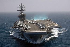 Στη Ρόδο το πυρηνοκίνητο αεροπλανοφόρο «Eisenhower»