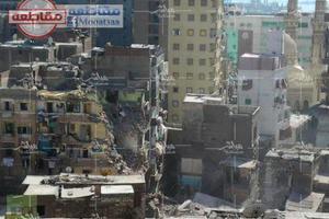 Κατέρρευσαν πολυώροφα κτίρια στην Αλεξάνδρεια