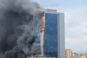 Υπό έλεγχο η φωτιά στην Κωνσταντινούπολη
