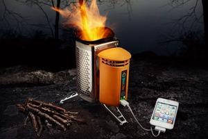 Φορτίστε το iPhone με... φωτιά