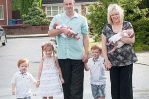 Η γέννα ήρθε έξι χρόνια μετά τη σύλληψη