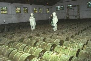 Η Ρωσία κατέστρεψε το 98,9% των χημικών της όπλων