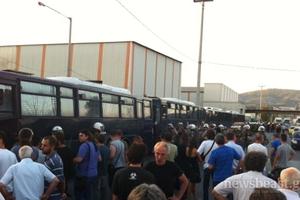 Έκλεισαν και τα δύο ρεύματα της Εθνικής από την αστυνομία