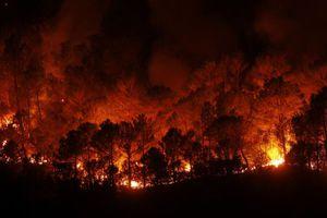 Συνεχίζεται η μάχη με τις φλόγες στο Άγιο Όρος