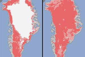 Με πρωτοφανείς ρυθμούς λιώνουν οι πάγοι στη Γροιλανδία