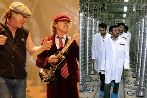 Οι AC/DC «τραγουδούν»  για το πυρηνικό του  πρόγραμμα του Ιράν