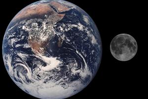«Η Σελήνη γεννήθηκε μέσα από… τα σπλάχνα της Γης»