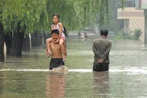 Στους 133 οι νεκροί από τις πλημμύρες στη Βόρεια Κορέα