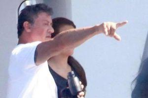 Στην Ιταλία ο Σταλόνε μετά το χαμό του γιου του