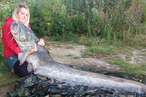 Ψαριά 54 κιλών από μία γυναίκα στην Αγγλία
