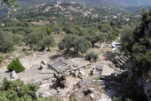 Κινδυνεύει το «ανάκτορο του Οδυσσέα» στην Ιθάκη