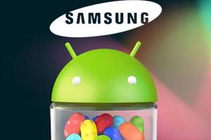 Αναβαθμίζονται συσκευές της Samsung σε Jelly Bean