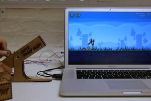 Σφεντόνα-χειριστήριο για τα Angry Birds